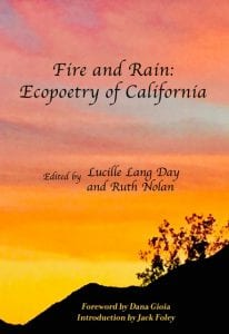 Fire and Rain Ecopoetry of California