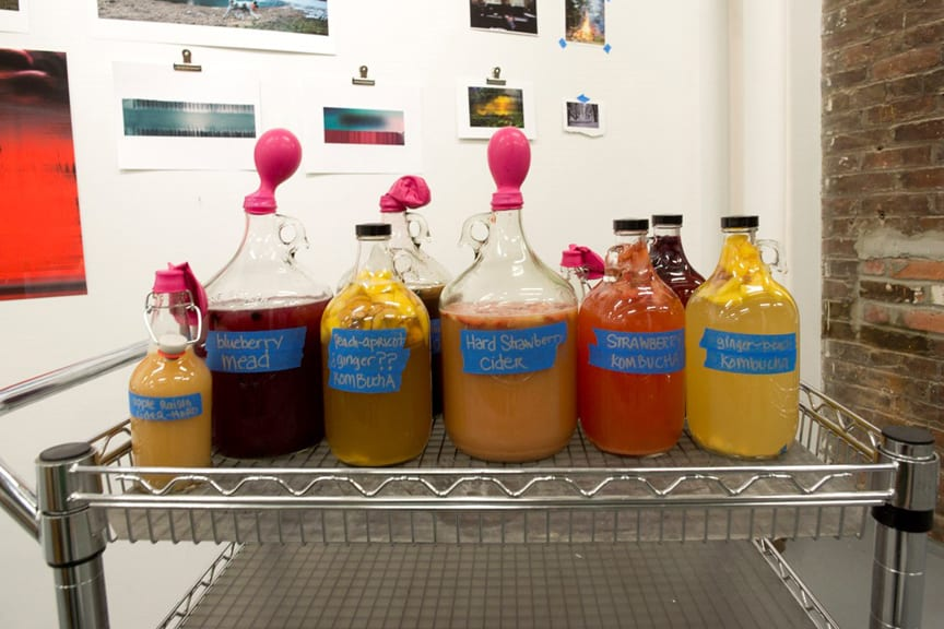 Live-culture drinks ready for first OS Fermentation Salon meeting