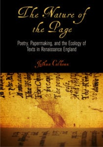 Cover Image: The Nature of the Page by Joshua Calhoun