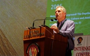 "Mark Long speaks at ""Toward Ecocultural Ethics"" conference"
